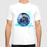 Garrus Vakarian With Sha… Mens Fitted Tee White SMALL