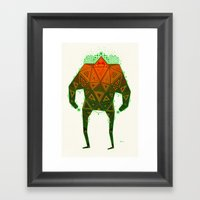 Yello Warrior Framed Art Print