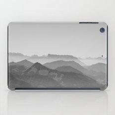 The amazing world of mountains iPad Case