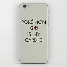 Cardio iPhone & iPod Skin