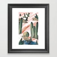 Pasancana & Quehualliu Framed Art Print