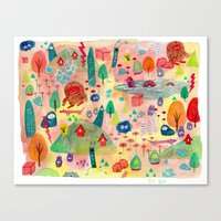 CHAOS!!! Canvas Print