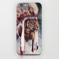 Tiger In War Bonnet iPhone 6 Slim Case