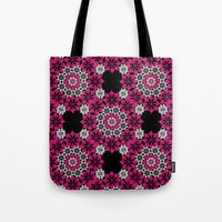 Squiggle Pink Tote Bag