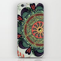 812 Multicolor Mandala iPhone & iPod Skin