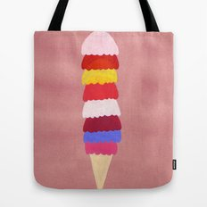 I scream, you scream, we all scream for ice cream Tote Bag