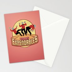 Redshirt Expendables Stationery Cards