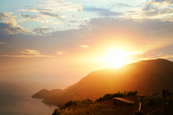Sunset at Marin Headlands Art Print