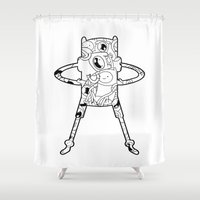 Finn  Shower Curtain