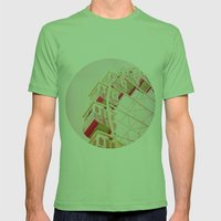 Dreamy Morning Mens Fitted Tee Grass SMALL