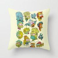 Nuclear Citizens Throw Pillow