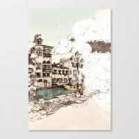 Vivaldi's Morning In Ven… Canvas Print