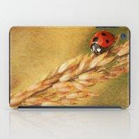 Lady on a Grass iPad Case