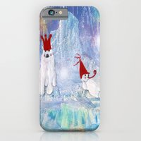 iPhone & iPod Case featuring The Ice Party by Trudi Drewett Illustration