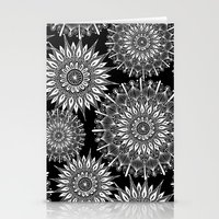 Mandala Negative Stationery Cards