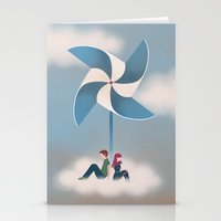 Windmill Stationery Cards