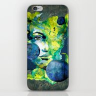 Evelin Green (Set) By Ca… iPhone & iPod Skin