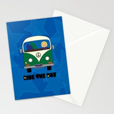 Ride the Bus - Boy Stationery Cards