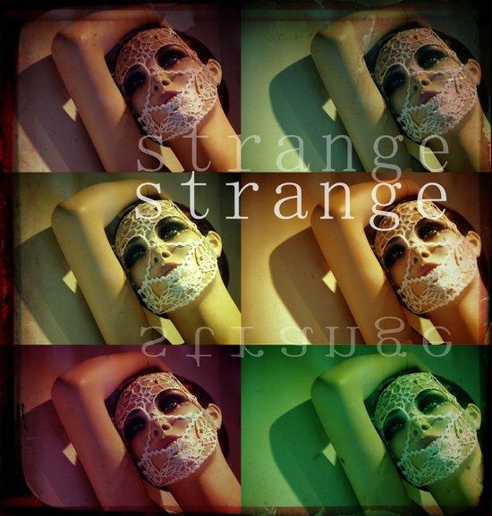 Strange Model Art Print