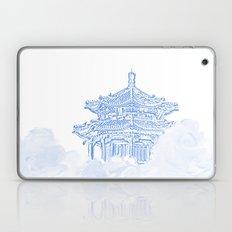 Zen temple in the cloud Laptop & iPad Skin