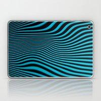 Stripes In Blue Laptop & iPad Skin