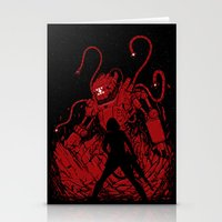 Surprise Attack Stationery Cards