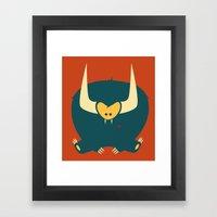 Love Monster Framed Art Print