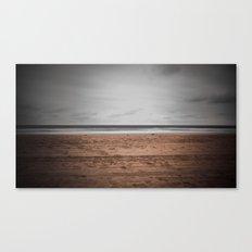Sad Beach Canvas Print