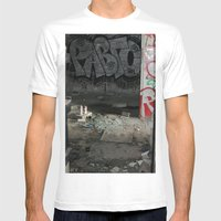 Demolished Providence Mens Fitted Tee White SMALL