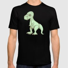 Plushie Rex Black SMALL Mens Fitted Tee