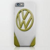 VW Camper Sage Green iPhone 6 Slim Case
