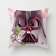 Yoda Slice Throw Pillow