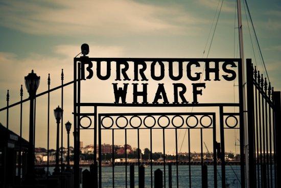 Burroughs Wharf Boston Art Print