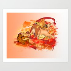THE CREATION Art Print