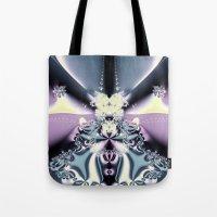 Purple Stage Tote Bag