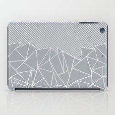 Ab Linear Grey iPad Case