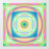Center Squared Canvas Print