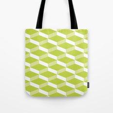 3D Lime Tote Bag
