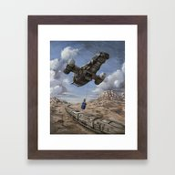 The Time Job - Firefly +… Framed Art Print