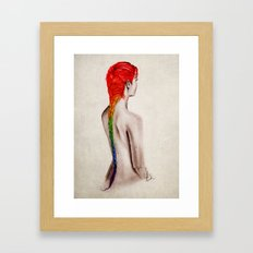 Toxicity Framed Art Print