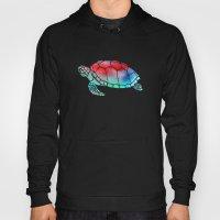 Watercolor Turtle Hoody