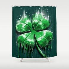 Melting Luck Shower Curtain
