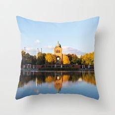 Engelbecken - Berlin Throw Pillow