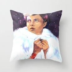 Air of December Throw Pillow