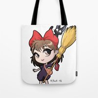 Chibi Kiki Tote Bag