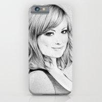 Olivia Wilde Portrait iPhone 6 Slim Case