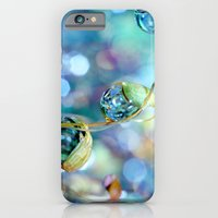 iPhone & iPod Case featuring Rainbow Moss Drops by Sharon Johnstone
