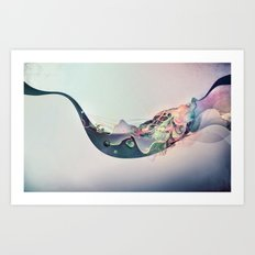 Organic Panic Art Print
