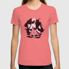 Guilt Womens Fitted Tee Pomegranate SMALL