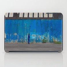 Paint it blue iPad Case